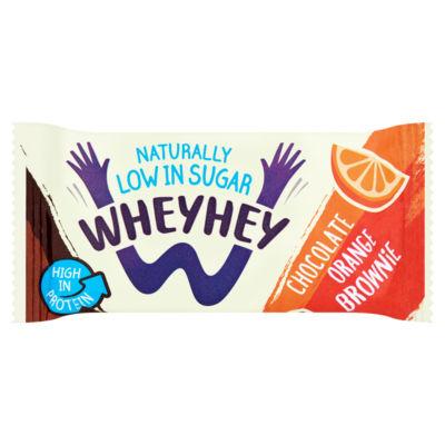 Wheyhey Chocolate Orange Brownie