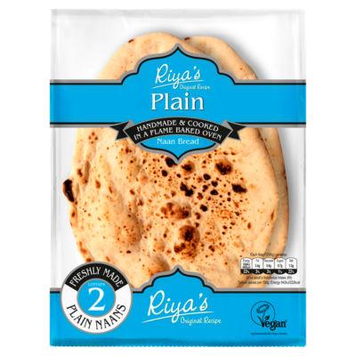 Riya's Original Recipe Plain Naan Bread