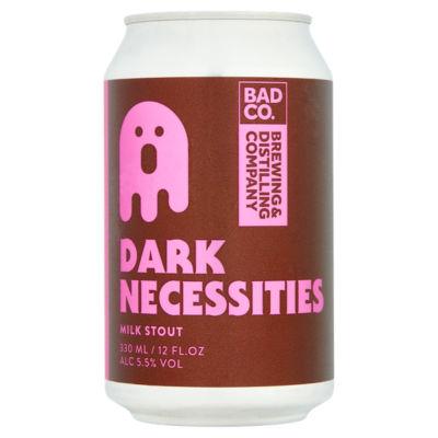 Bad Co Dark Necessities Milk Stout