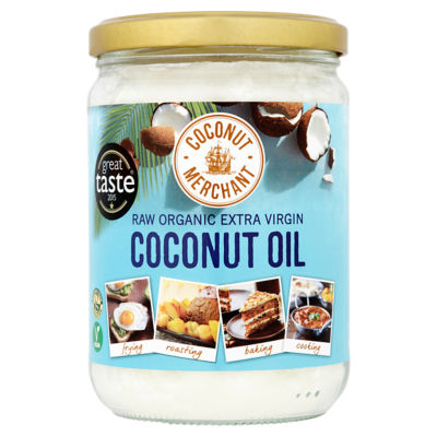 Coconut Merchant Raw Organic Extra Virgin Coconut Oil