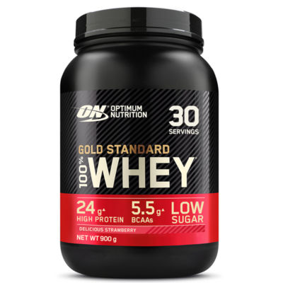 Optimum Nutrition Gold Standard 100% Whey Delicious Strawberry Flavour