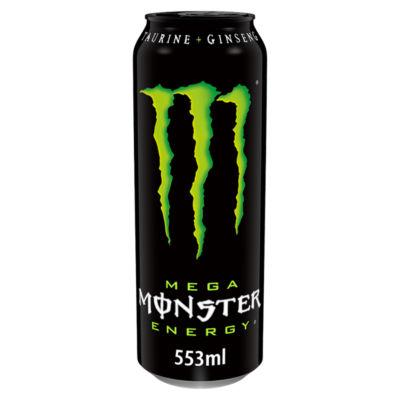 Monster Mega Energy Drink Can