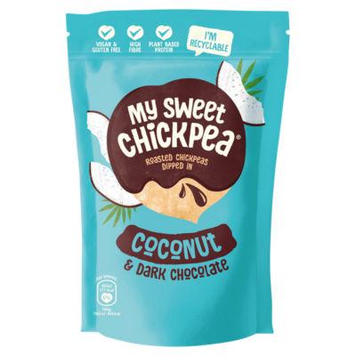 My Sweet Chickpea Coconut & Dark Chocolate Roasted Chickpeas