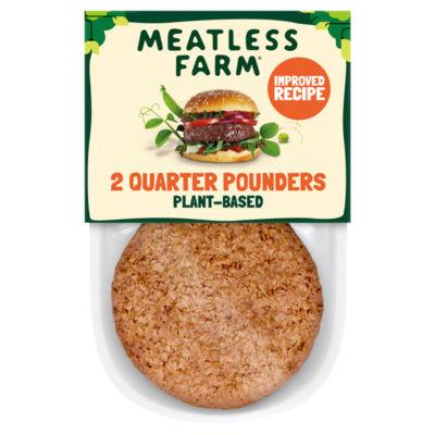 The Meatless Farm Co Meatless Farm Plant-Based Burgers