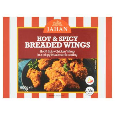 Jahan Hot & Spicy Breaded Wings