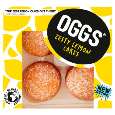 Oggs Zesty Lemon Cakes