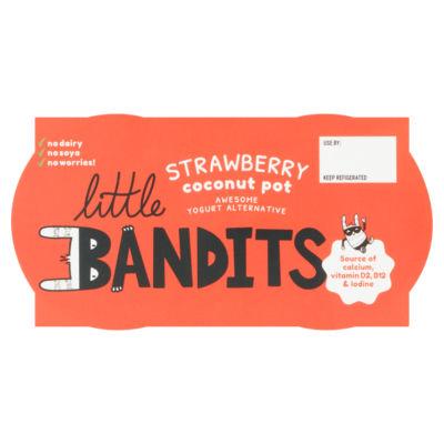 Little Bandits Strawberry Coconut Pot
