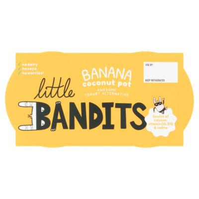 Little Bandits Banana Coconut Pot