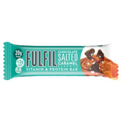 Fulfil Chocolate Salted Caramel Flavour Vitamin & Protein Bar