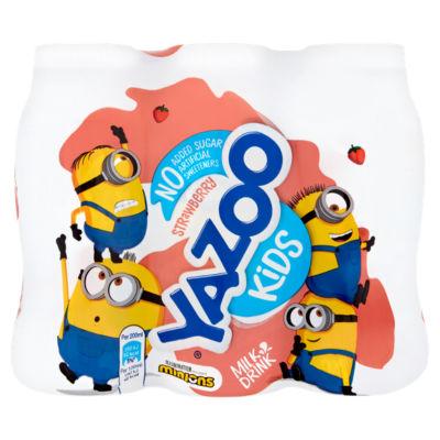 Yazoo Kids No Added Sugar Strawberry Milk Drink