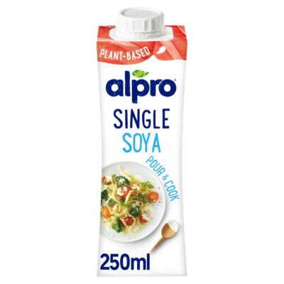 Alpro Soya Long Life Alternative to Single Cream