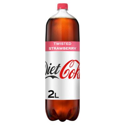 Diet Coke Twisted Strawberry