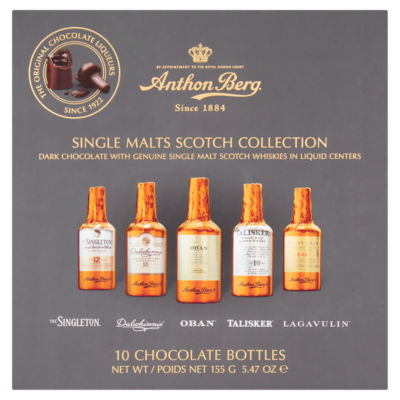 Anthon Berg 10 Single Malts Scotch Collection Chocolates