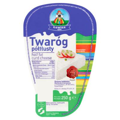 Lowicz Half Fat Twarog