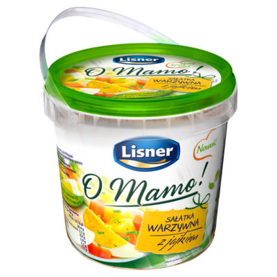 Lisner Vegetable Salad with Eggs