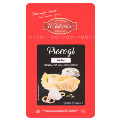 U Jędrusia Dumplings with Cottage Cheese and Potato