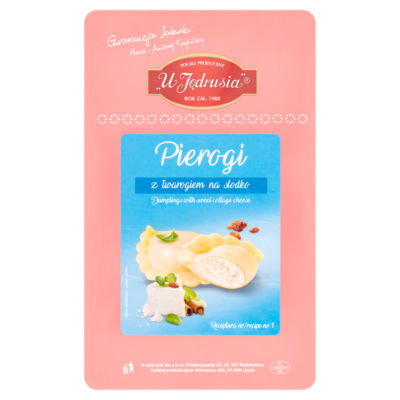 U Jędrusia Dumplings with Sweet Cottage Cheese