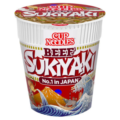 Nissin Cup Noodles Sukiyaki Beef