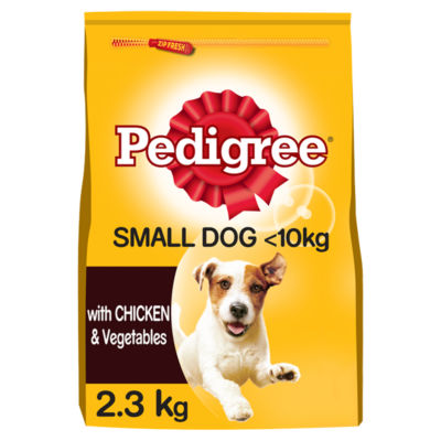 Pedigree Small Dog Chicken and Vegetables Complete Dry Dog Food