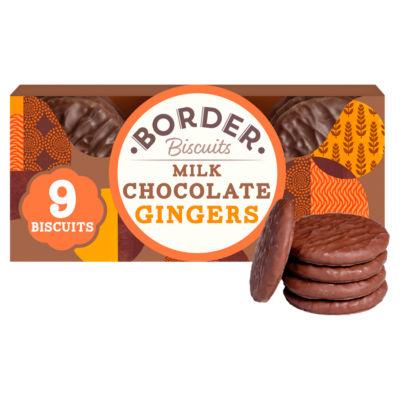 Border Milk Chocolate Gingers