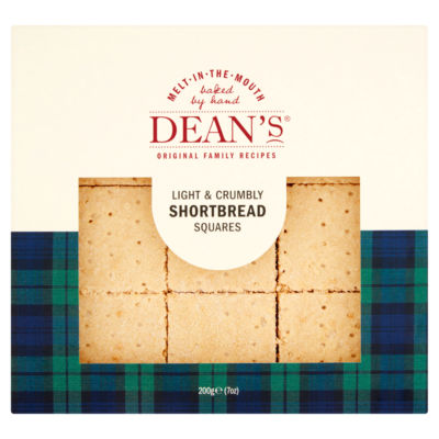 Dean's Light & Crumbly Shortbread Squares