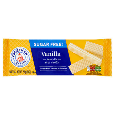Voortman Bakery Bakery Sugar Free! Vanilla Wafers
