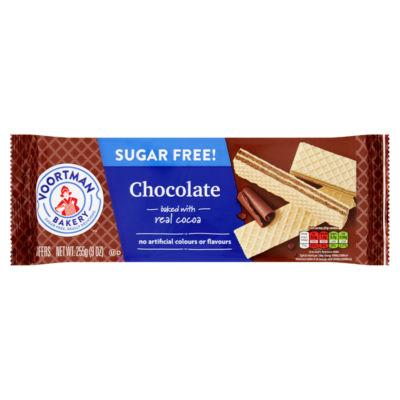 Voortman Bakery Bakery Sugar Free! Chocolate Wafers