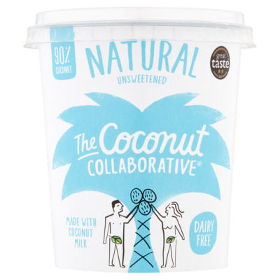 The Coconut Collaborative Dairy Free Natural Coconut Yoghurt