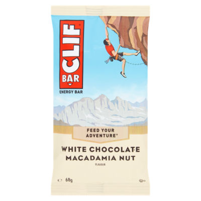 Clif Bar White Chocolate Macadamia Nut Flavour Energy Bar