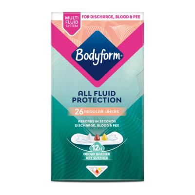 Bodyform Extra Protection Regular Liners