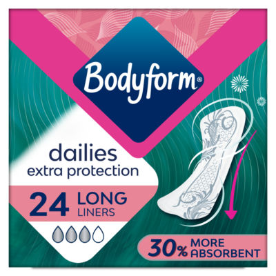 Bodyform Extra Protection Long Liners
