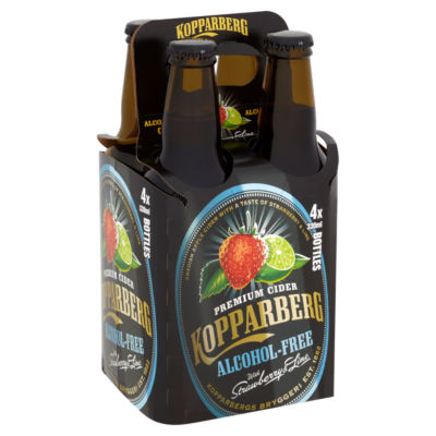 Kopparberg Alcohol Free Cider with Strawberry & Lime 0.0% ABV