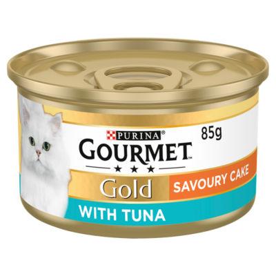 Gourmet Gold Savoury Cake Tuna Cat Food Tin