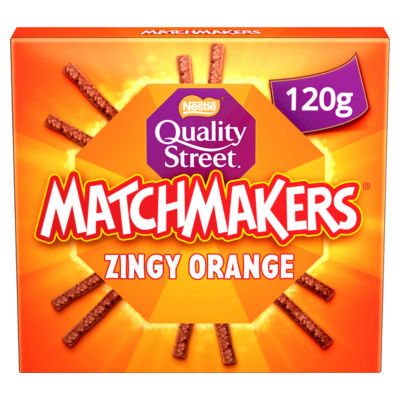 Quality Street Matchmakers Zingy Orange Chocolates