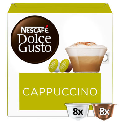 Nescafe Dolce Gusto Cappuccino Coffee Pods
