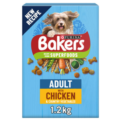 Bakers Chicken & Veg Dry Adult Dog Food