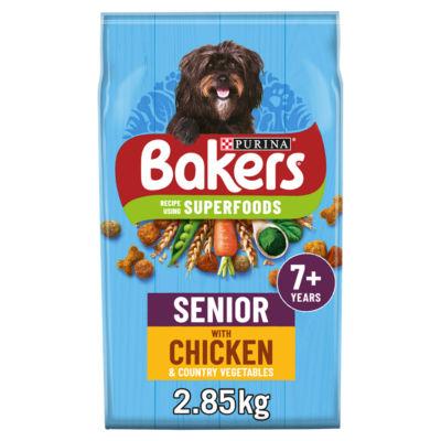 Bakers Chicken & Veg Dry Senior Dog Food