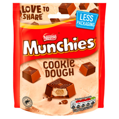 Munchies Cookie Dough Chocolate Pouch