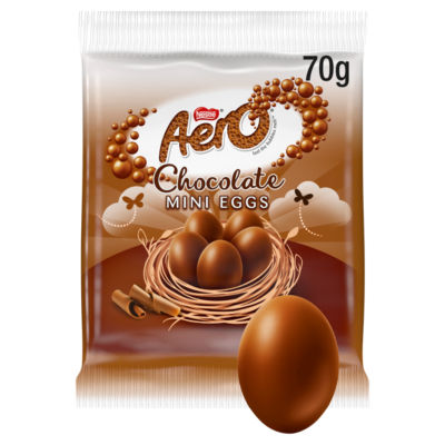 Aero Milk Chocolate Mini Eggs