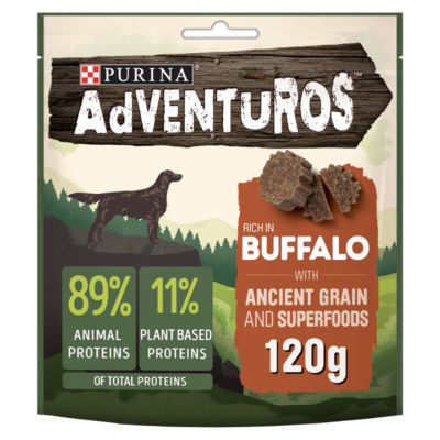 Adventuros Rich in Buffalo with Ancient Grain and Superfoods Dog Treats