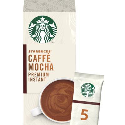 Starbucks Caffè Mocha Premium Instant Coffee Sachets 5 Pack