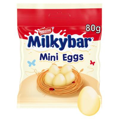 Milkybar White Chocolate Mini Eggs Pouch