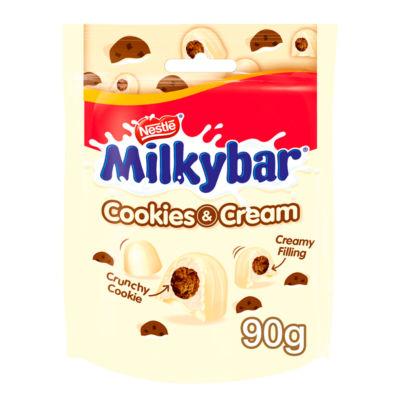 Milkybar Cookies & Cream White Chocolate Bites Sharing Bag