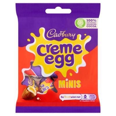 Cadbury Creme Egg Minis Bag