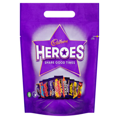 Cadbury Heroes Chocolate Pouch