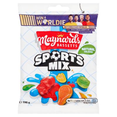 Maynards Bassetts Sports Mix Sweets Bag