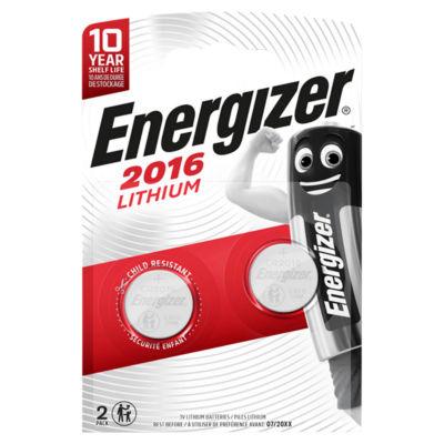 Energizer 2016 3V Lithium Batteries