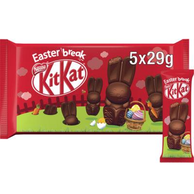 KitKat Mik Chocolate Bunny Multipack 5 Pack