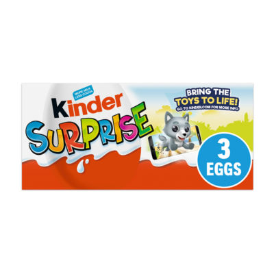 Kinder Surprise Chocolate Egg Multipack 3 Pack