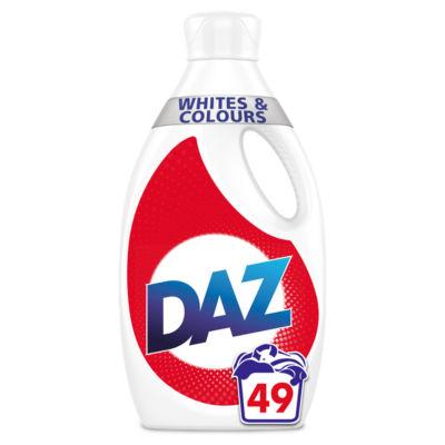 Daz Washing Liquid For Whites & Colour 49 Washes